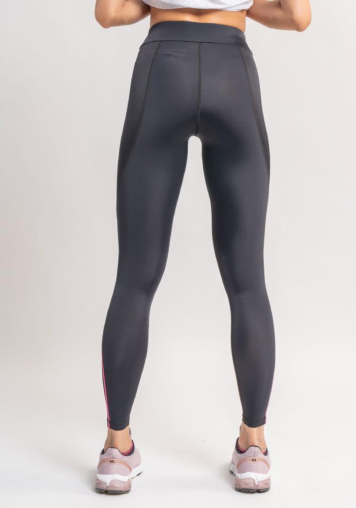 【Attis亞特司】完美曲線輕塑褲(黑/ 線桃紅) 3