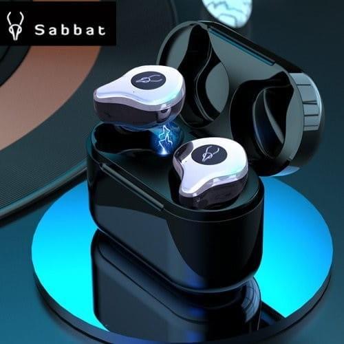 送無線充電盤+ Sabbat 魔宴 E12 真無線運動藍芽/TWS藍牙耳機