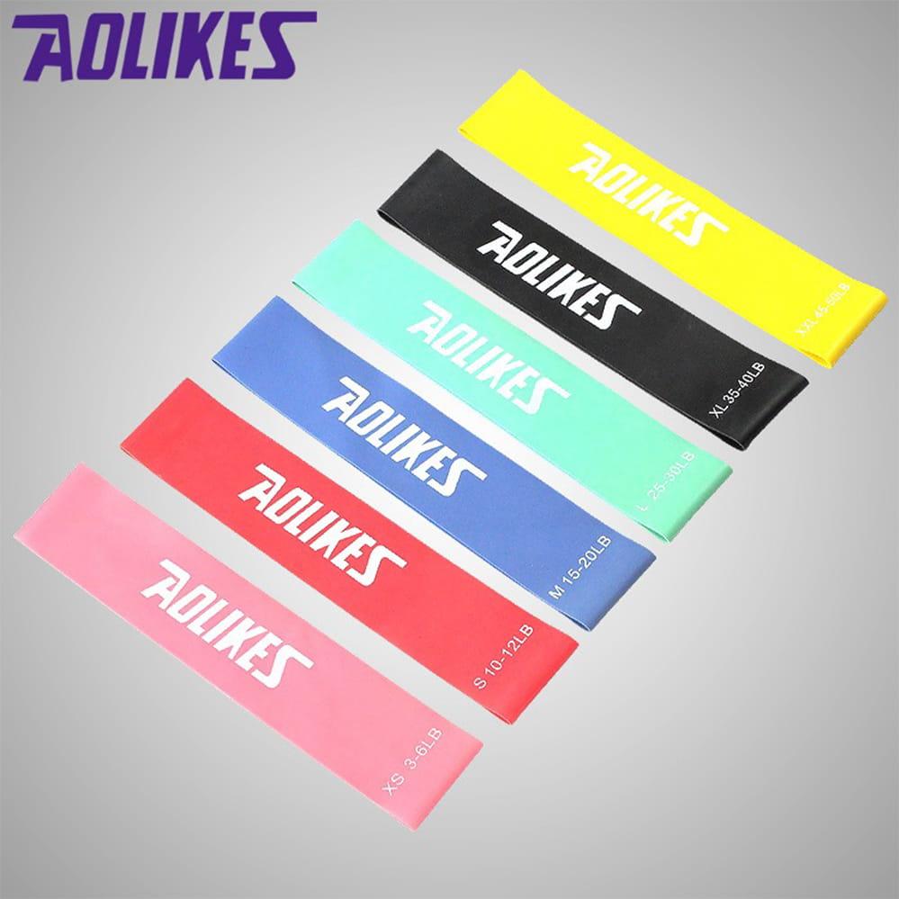 【Aolikes】迷你環狀阻力帶 拉力帶 瑜珈帶 彈力帶 拉力圈 彼拉提斯帶 0