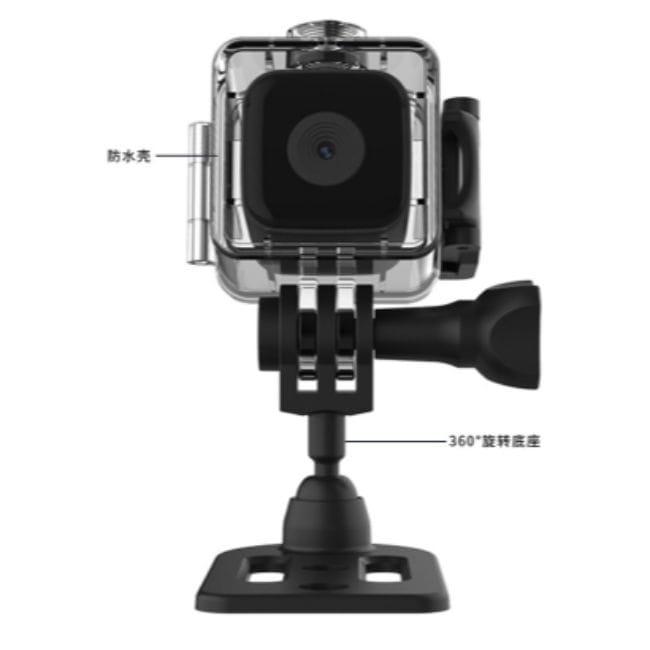 迷你監視器 I高清磁吸密錄器 廣角微型攝影機 夜視無光 支援128G 移動偵測 監視器 手機連結 11