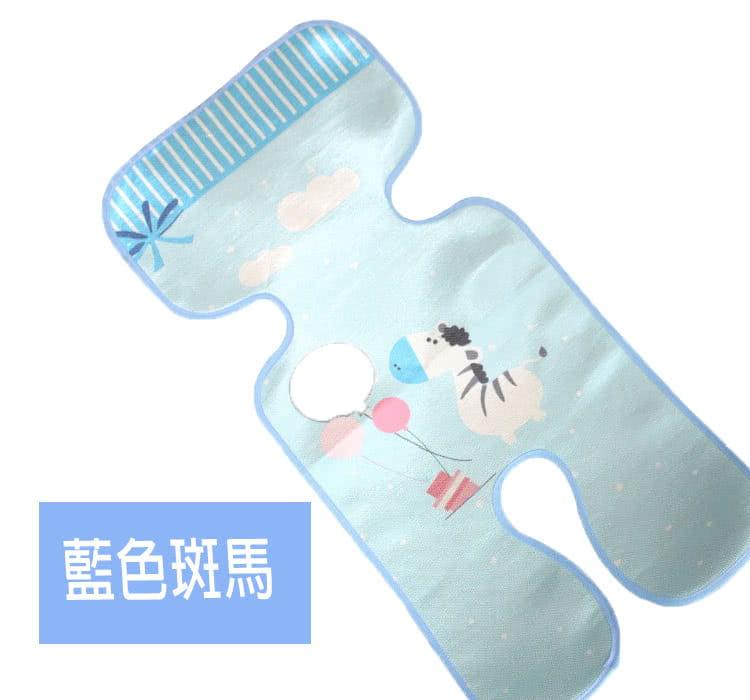 【JAR嚴選】新款印花推車涼蓆 寶寶三明治嬰兒卡通推車涼蓆 7