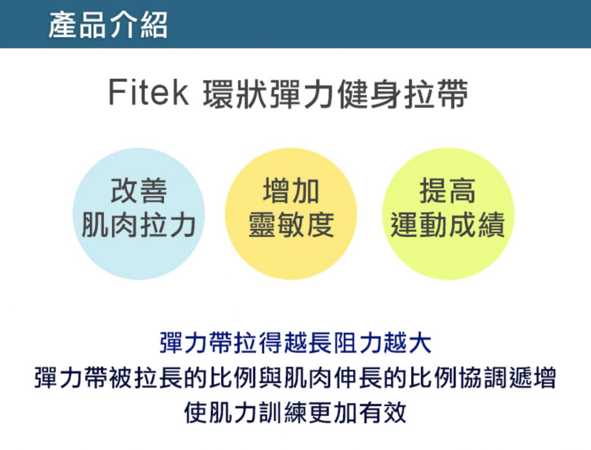 30公斤健身阻力帶【Fitek】 4