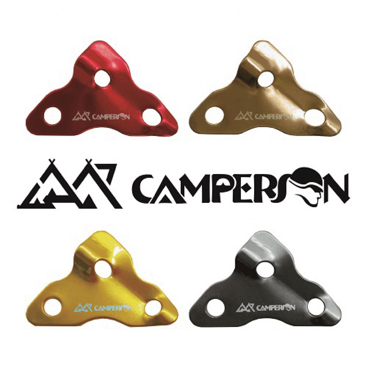 【CAMPERSON】鏢型調節片(10入) 0