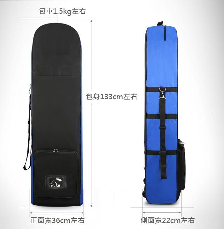GOLF高爾夫帶滑輪航空包 托運保護袋【AE10244】 8