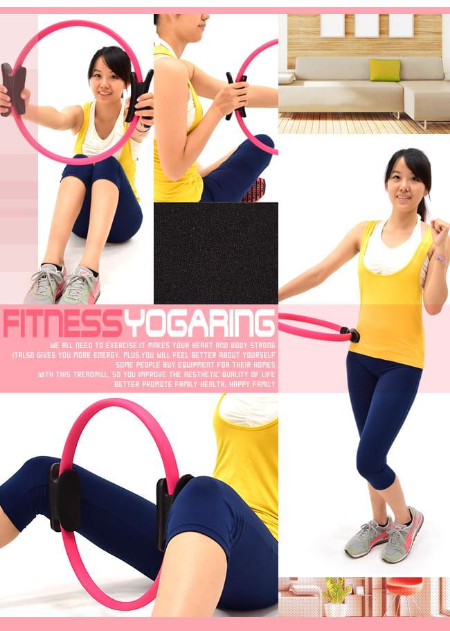 有氧美型彈力韻律圈    健身圈美腿夾瑜珈圈美體圈 5