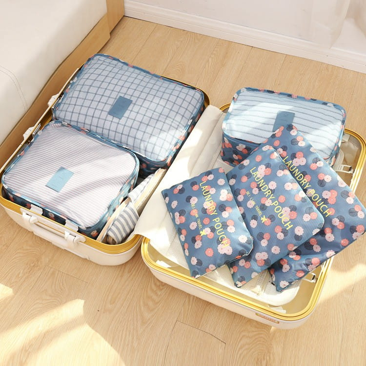 韓版行李收納袋六件套 0