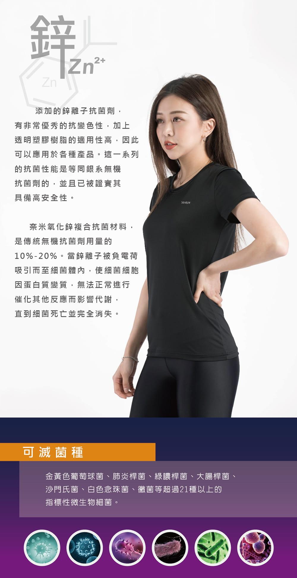 【MARIN】台灣製-鋅離子排汗logo T 1