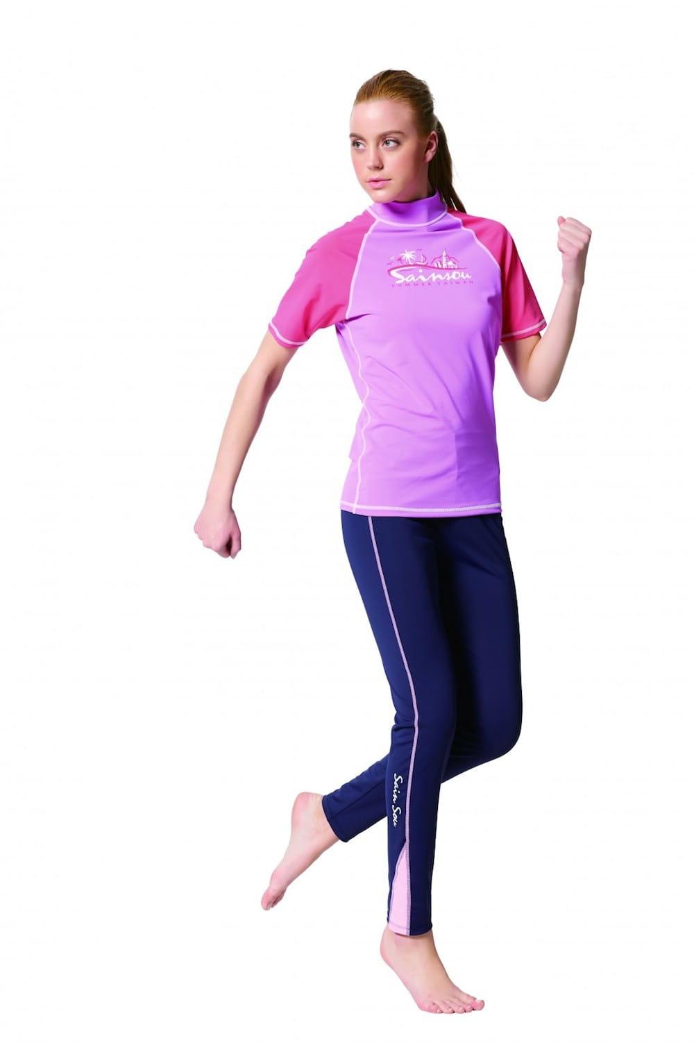 MIT 運動機能褲(水陸兩用) 水母褲 4