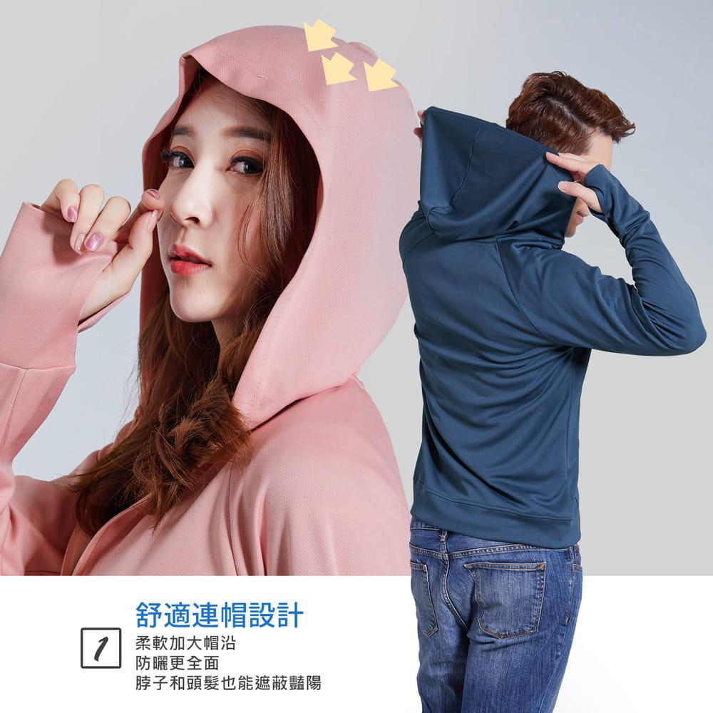 【BeautyFocus】男女升級UPF50+連帽防曬外套/二款 10