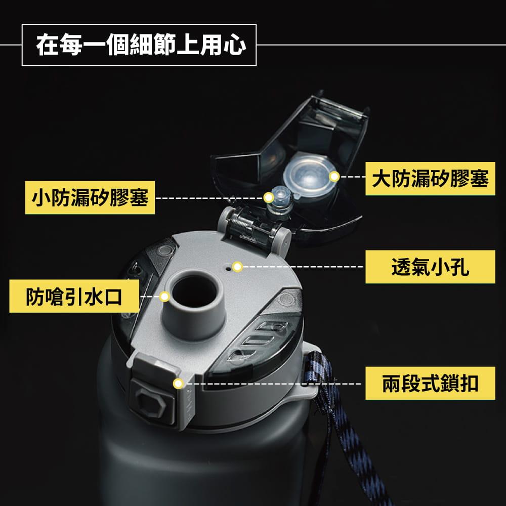 美國Tritan防摔運動水壺-700mL/1000mL-4色 2