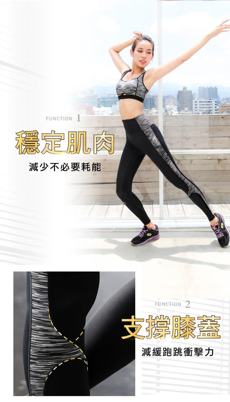 【iFit】Fitty 迷彩 護膝壓力褲(旗艦拼彩款) 6