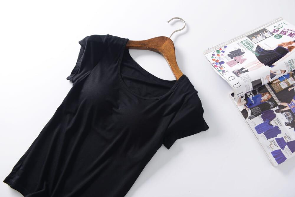 涼感萊卡免穿BRA T恤 2