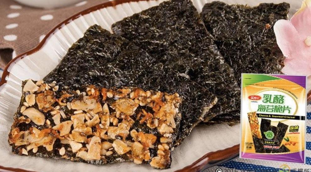 【美味田】香脆濃 乳酪海苔脆片 海苔 原味 紅黎麥 4