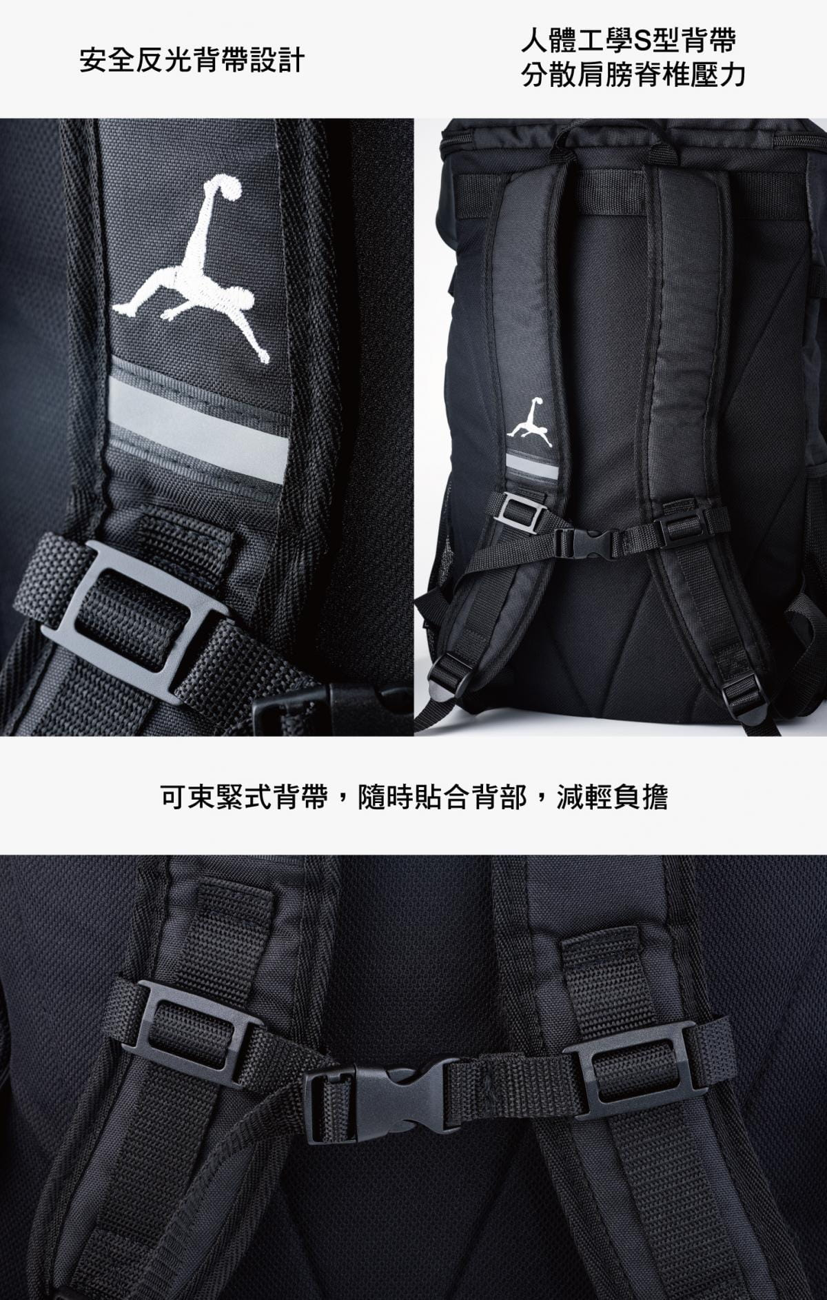 Loopal BLAKE 2.0款 高機能 頂規收納雙肩背包 11