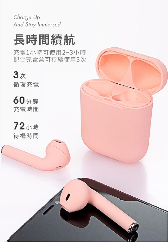 馬卡龍 藍牙5.0 真無線 觸控式藍牙耳機 5