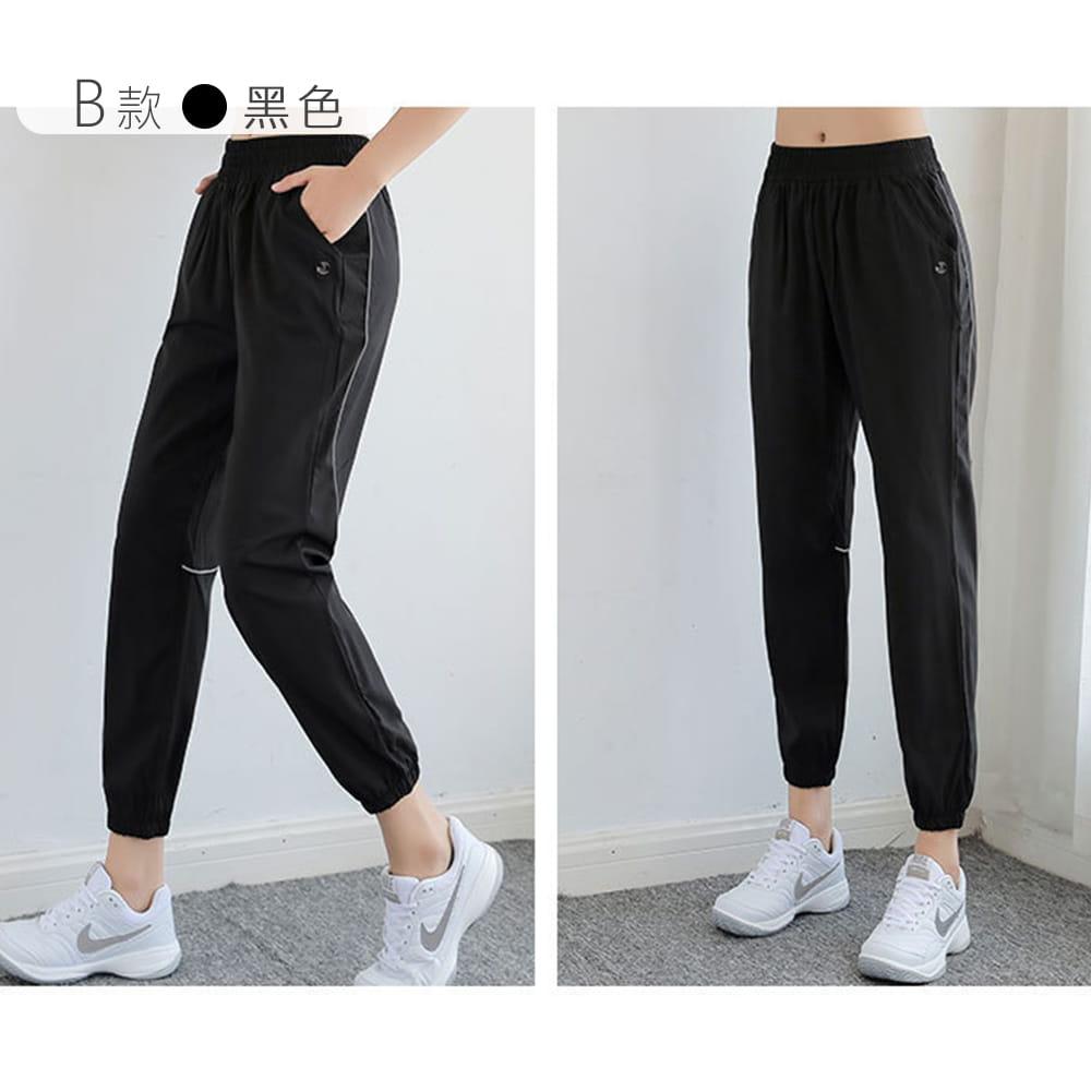 【NEW FORCE】簡約女款運動鬆緊長褲-兩款可選 12