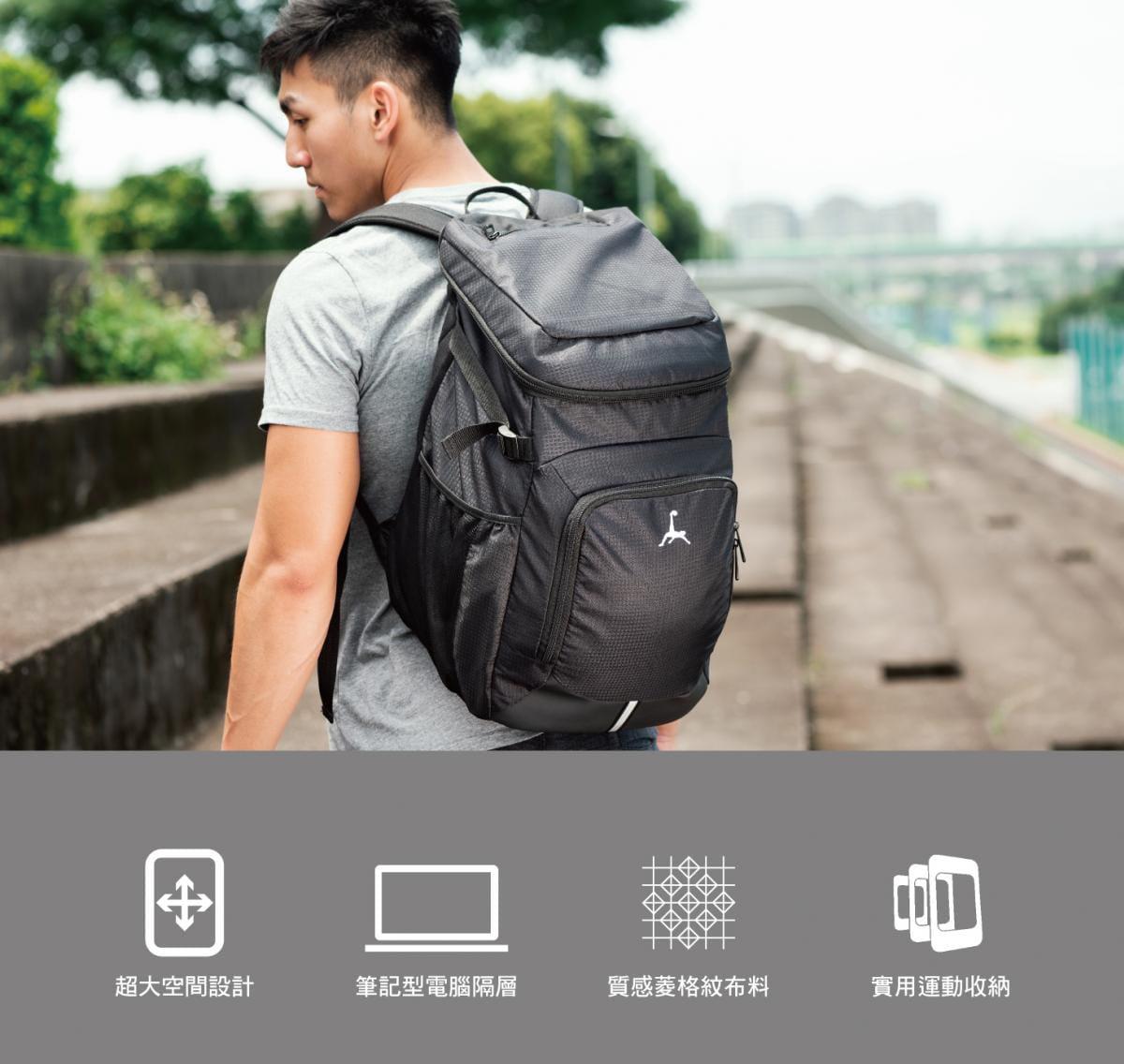 Loopal BLAKE 2.0款 高機能 頂規收納雙肩背包 0