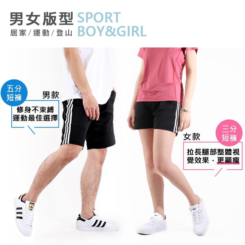 【JU休閒】彈力涼感 速乾機能涼感褲 運動短褲 (男女款) 6