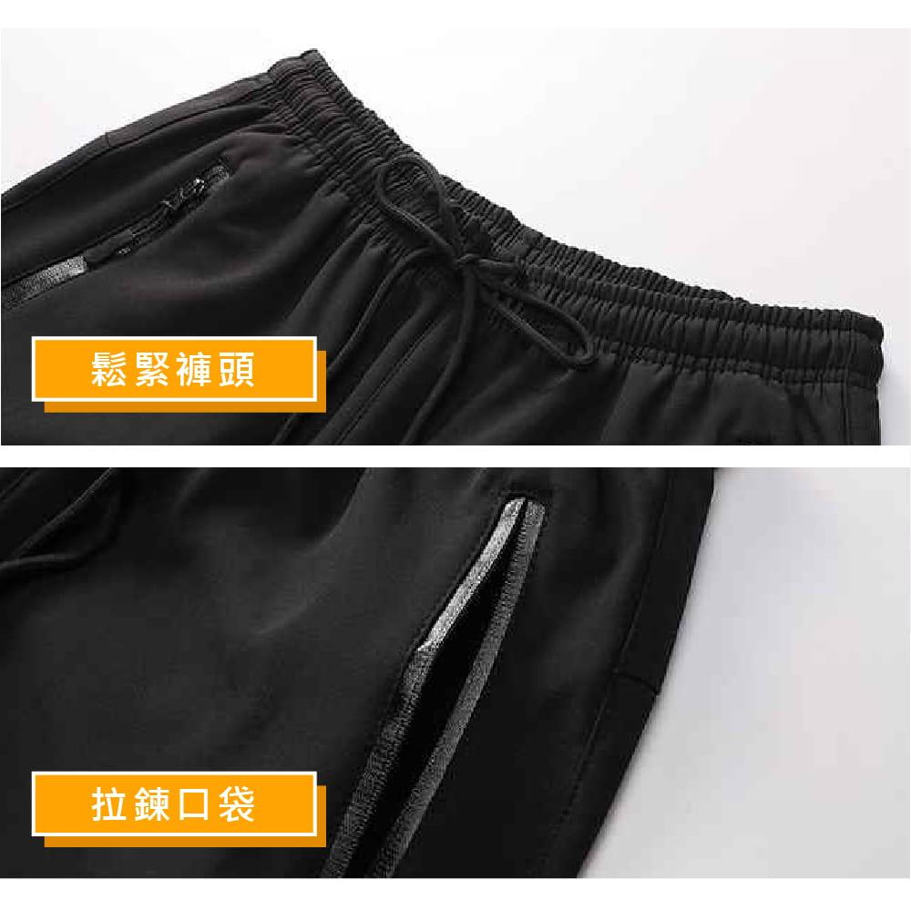 【NEW FORCE】保暖彈力抗刮抗皺衝鋒褲-男女款 5