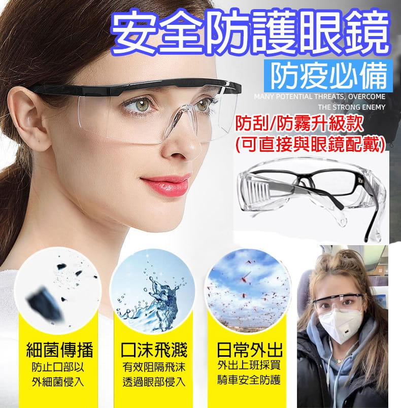 【JAR嚴選】多功能防疫防塵護目鏡(防飛沫) 0