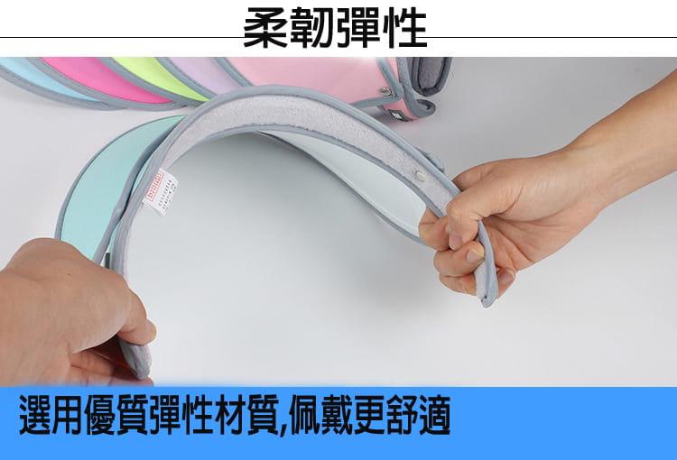 【JAR嚴選】升級版抗UV雙層可調式遮陽帽 3