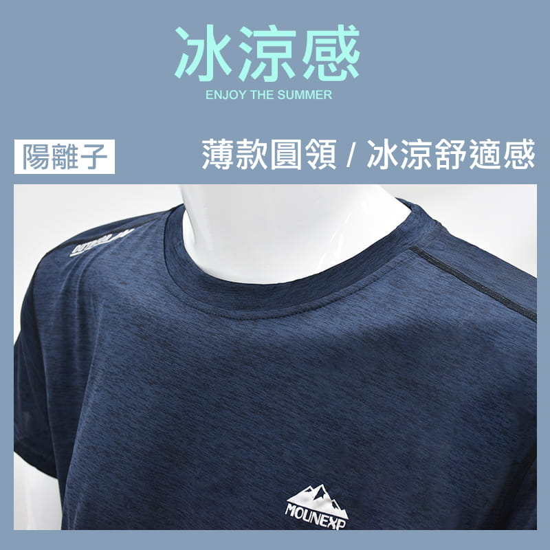 陽離子機能排汗衫 3