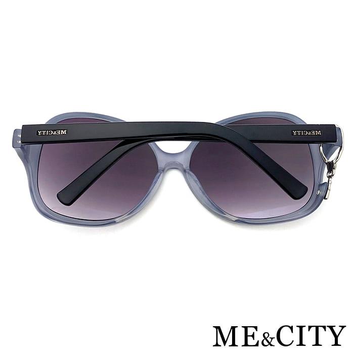 【ME&CITY】 甜美心型鎖鍊太陽眼鏡 抗UV (ME 1223 L01) 9
