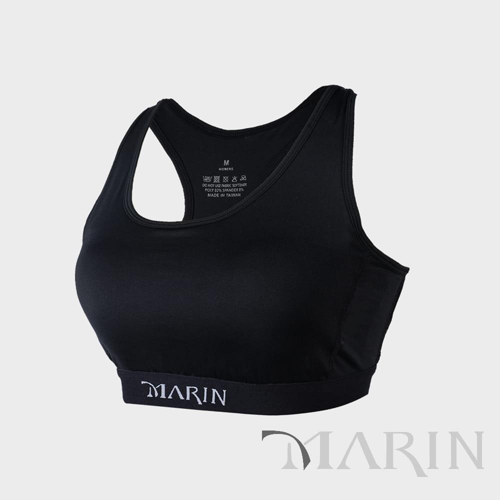【MARIN】台灣製 鋅離子 中度支撐型運動內衣 0