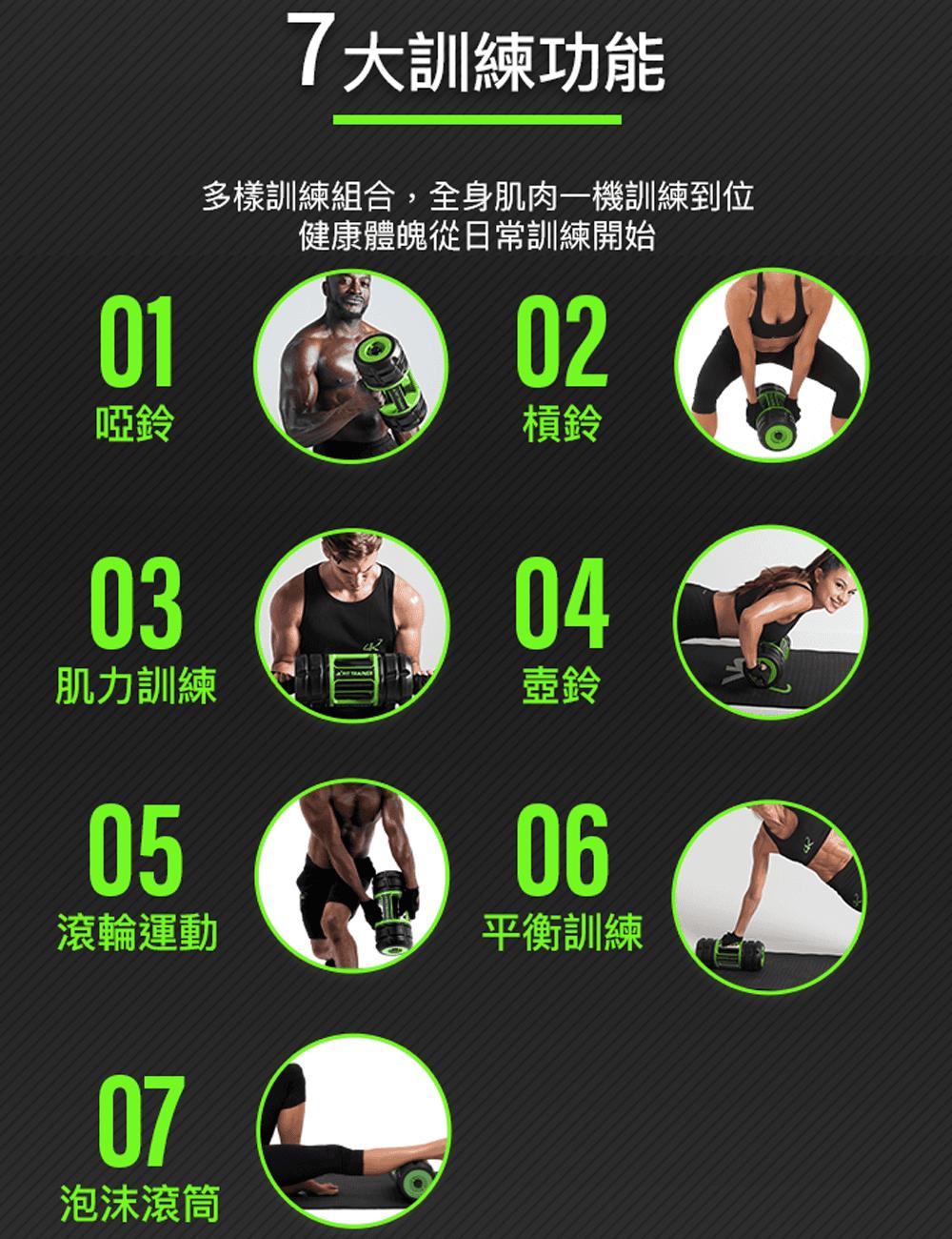 英國 K Fit Trainer全能健身器 3