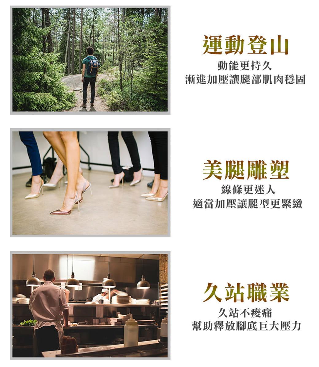 【力美特機能襪】彈力機能壓力襪(厚底款) 6
