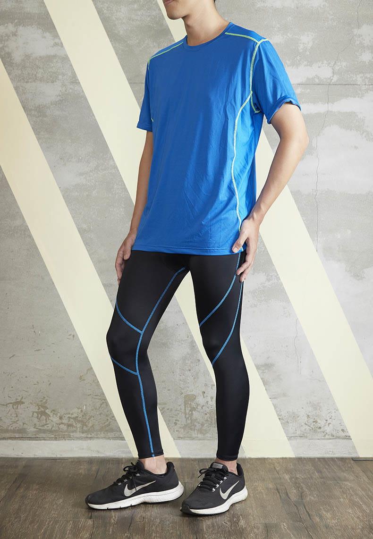 【ELASTI】男款機能健身壓力褲 9