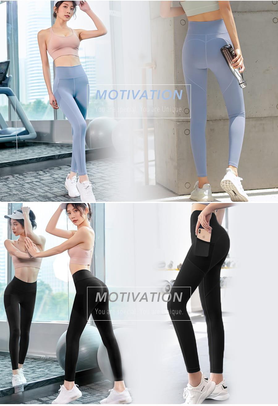 【Un-Sport高機能】提臀系列-高彈網紗拼接雙口袋九分褲(瞬吸排濕/瑜伽/健身) 5