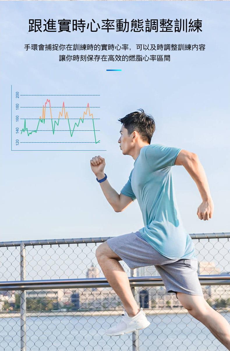 智能手環手表運動計步器男女學生防水電子情侶手環5代多功能適用小米4蘋果oppo華為手機 16