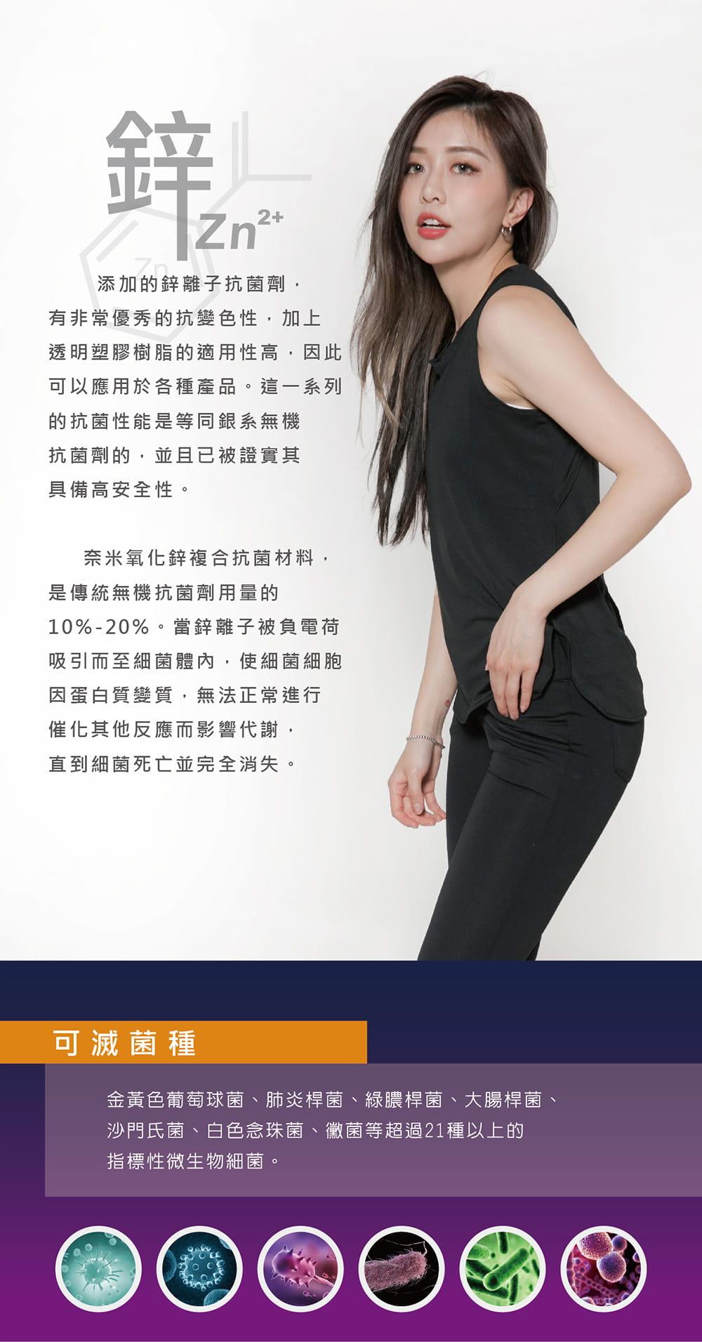 【MARIN】台灣製-酷涼透氣運動背心 黑色/灰色 1