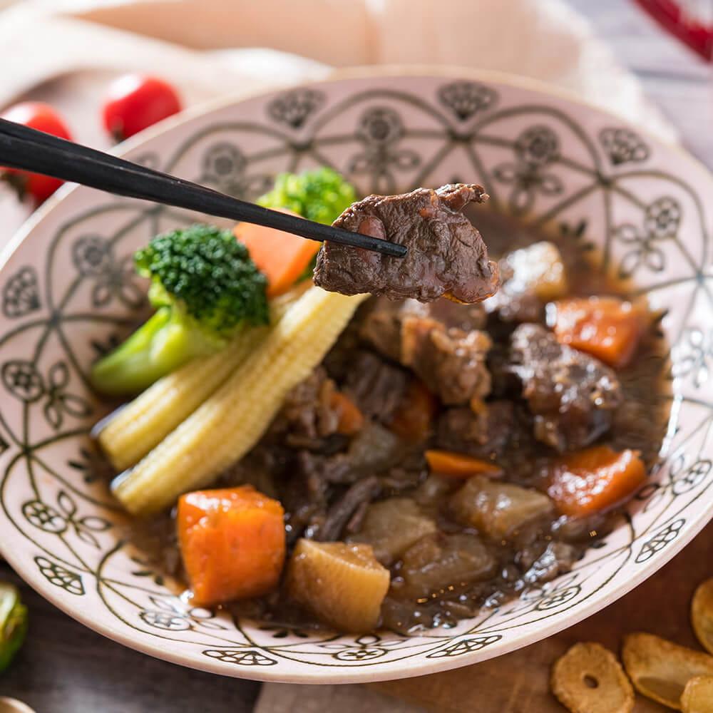 【瘦達人減醣廚房】低醣無澱粉 綜合牛肉餐五份 0