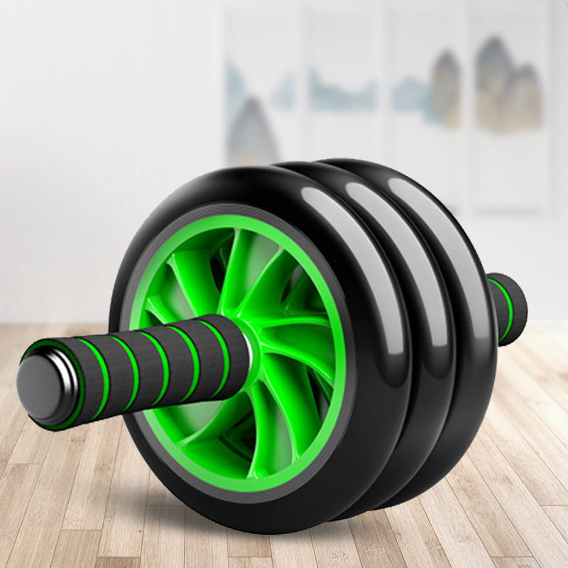 健腹輪腹肌輪健身器材家用男士訓練器收腹器滾滑輪