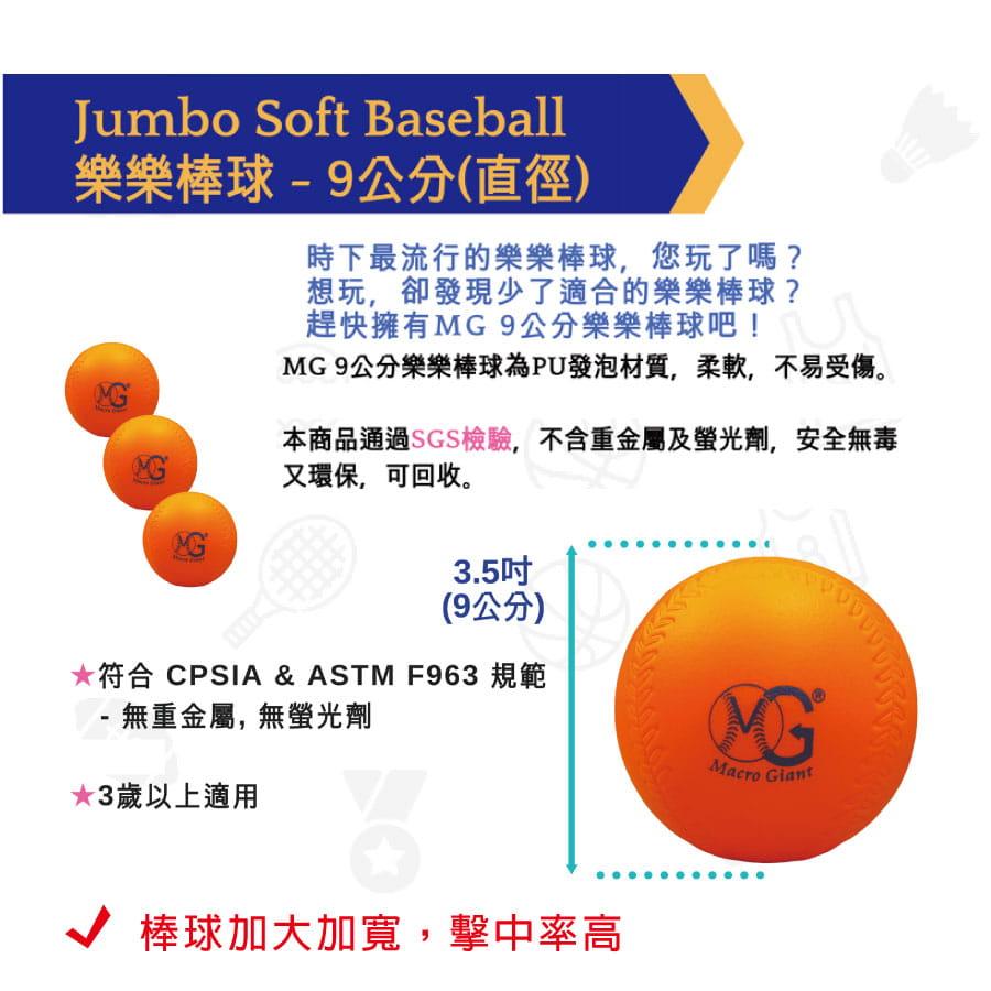【Macro Giant】樂樂棒球三入球組 4