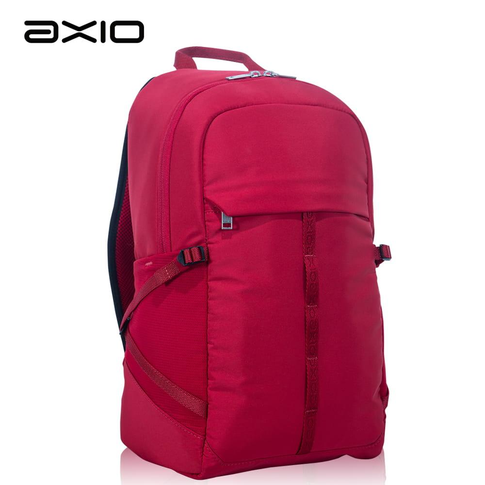 【AXIO】Microfiber Backpack RD 16L超細纖維都會後背包(RS-455)紅