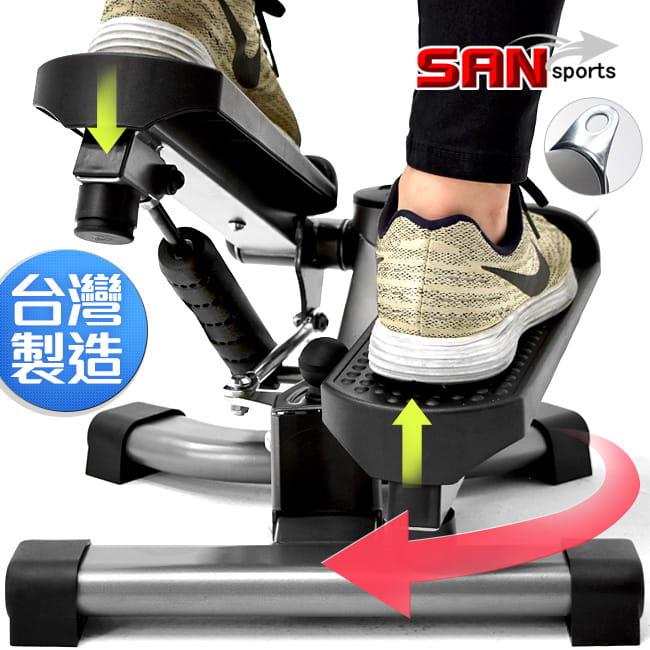 台灣製造!!雙效2in1扭腰踏步機