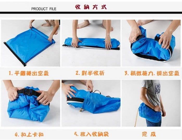 方便攜帶方頭款空氣懶人充氣沙發 2