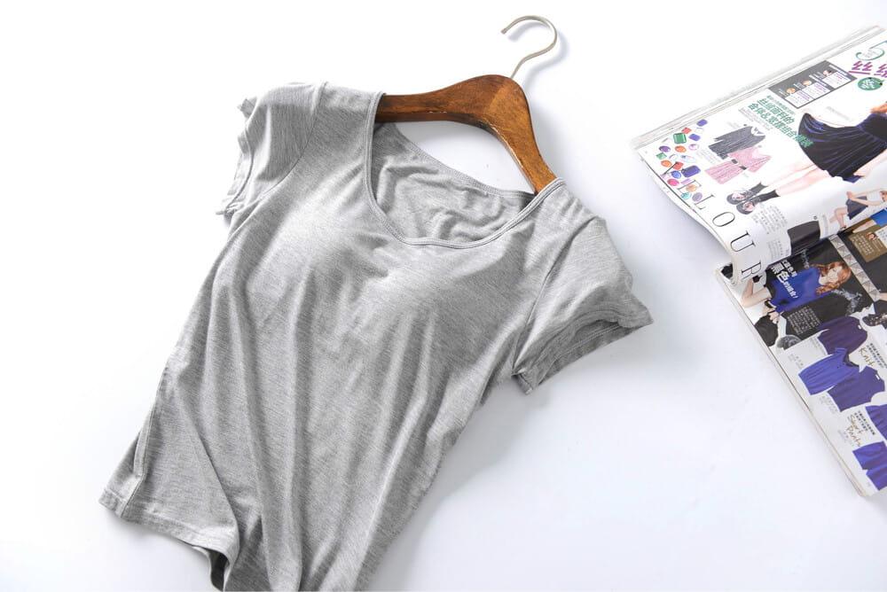 涼感萊卡免穿BRA T恤 3