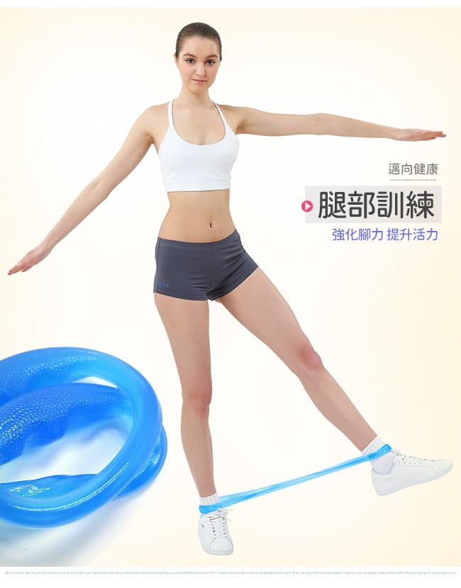 台灣製造!!O型QQ果凍拉力繩(果凍繩彈力繩/拉力帶拉力器/彈力帶拉繩/拉筋帶瑜珈帶) 5
