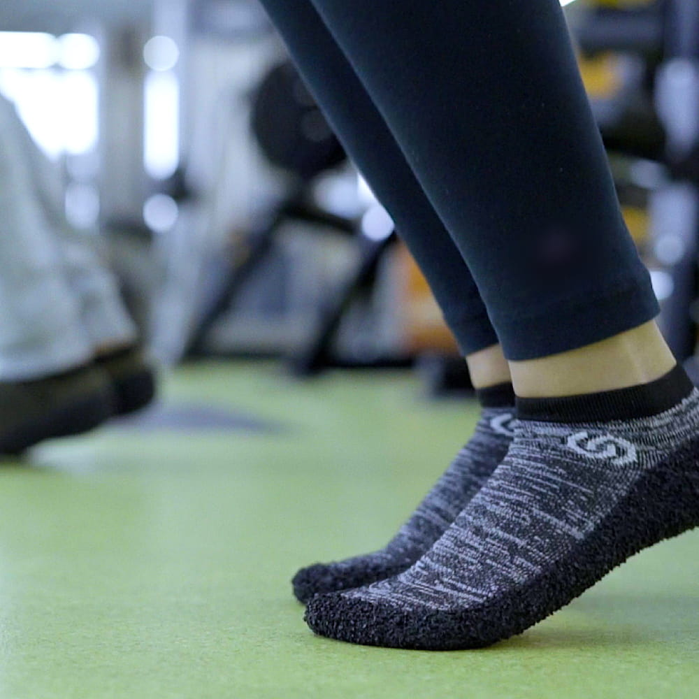【Skinners】裸足感耐磨機能運動鞋襪-5色 18
