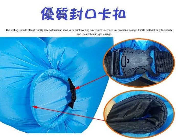 方便攜帶方頭款空氣懶人充氣沙發 9