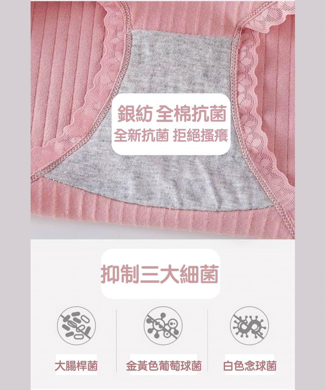 優質呵護螺紋透氣內褲(共6色) 5