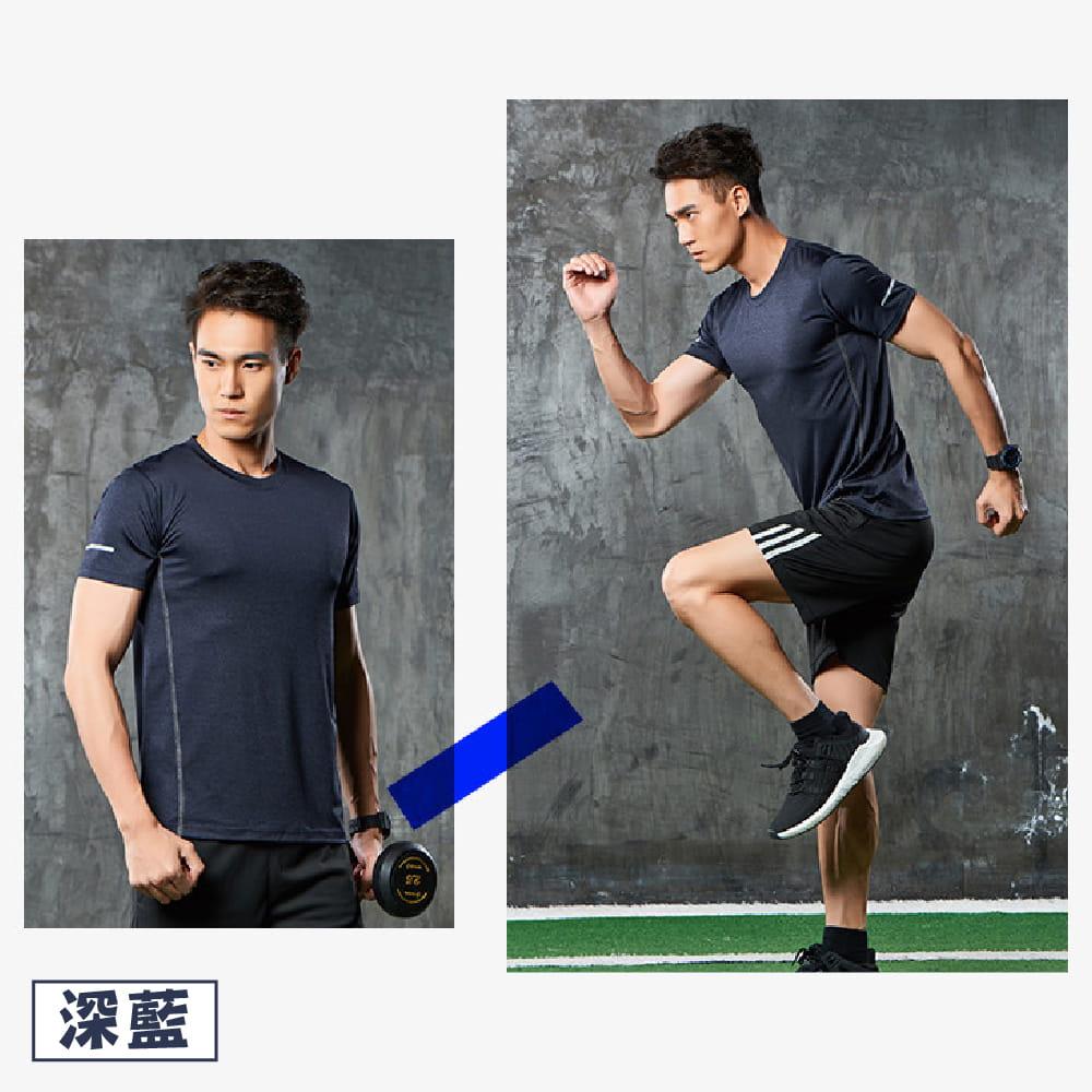 【NEW FORCE】運動機能吸濕排汗衫-4色可選 7