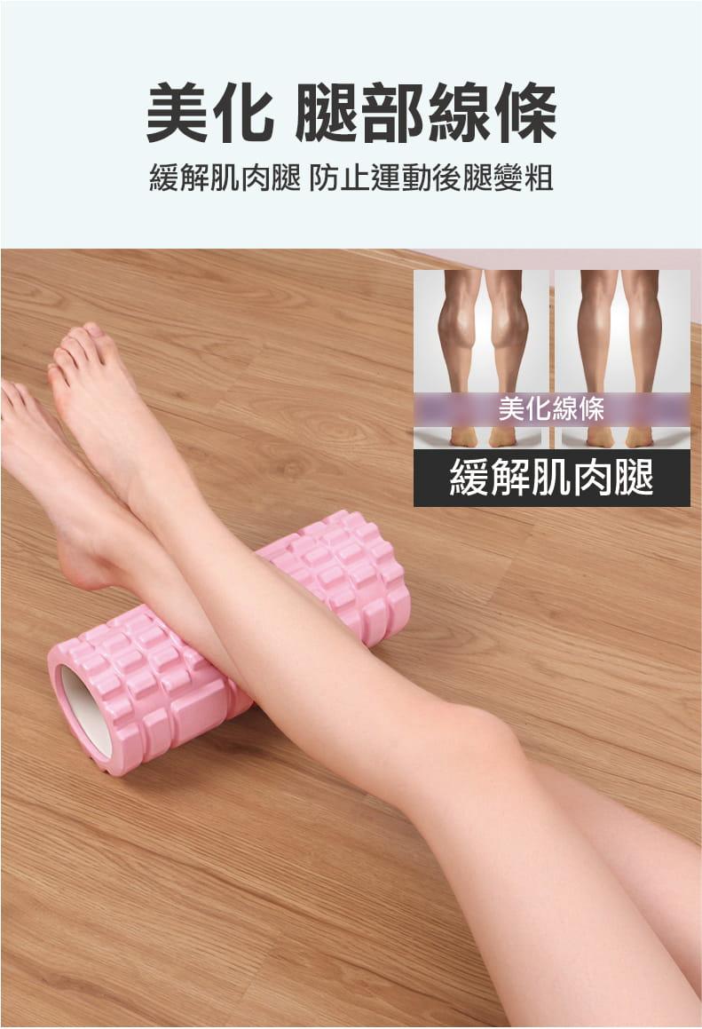 立體瑜珈柱按摩滾輪  肌肉筋膜放鬆 8