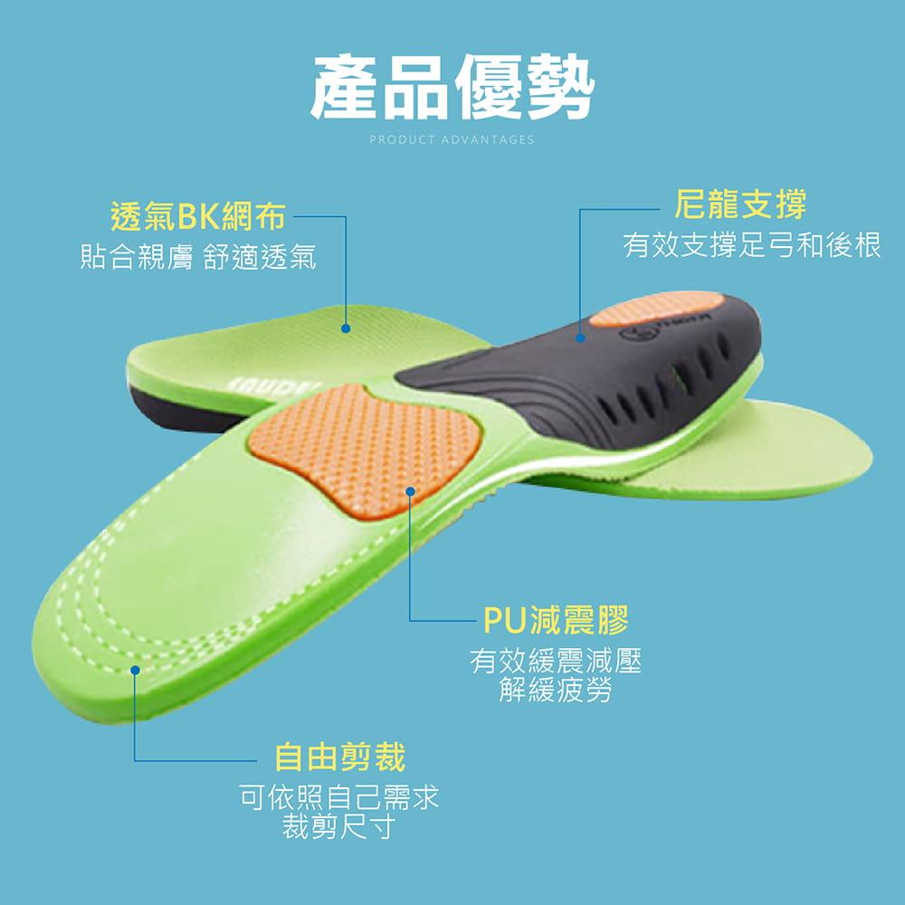 【機能型-運動足弓鞋墊】多尺寸任選 扁平救星 鞋墊 足弓墊 7