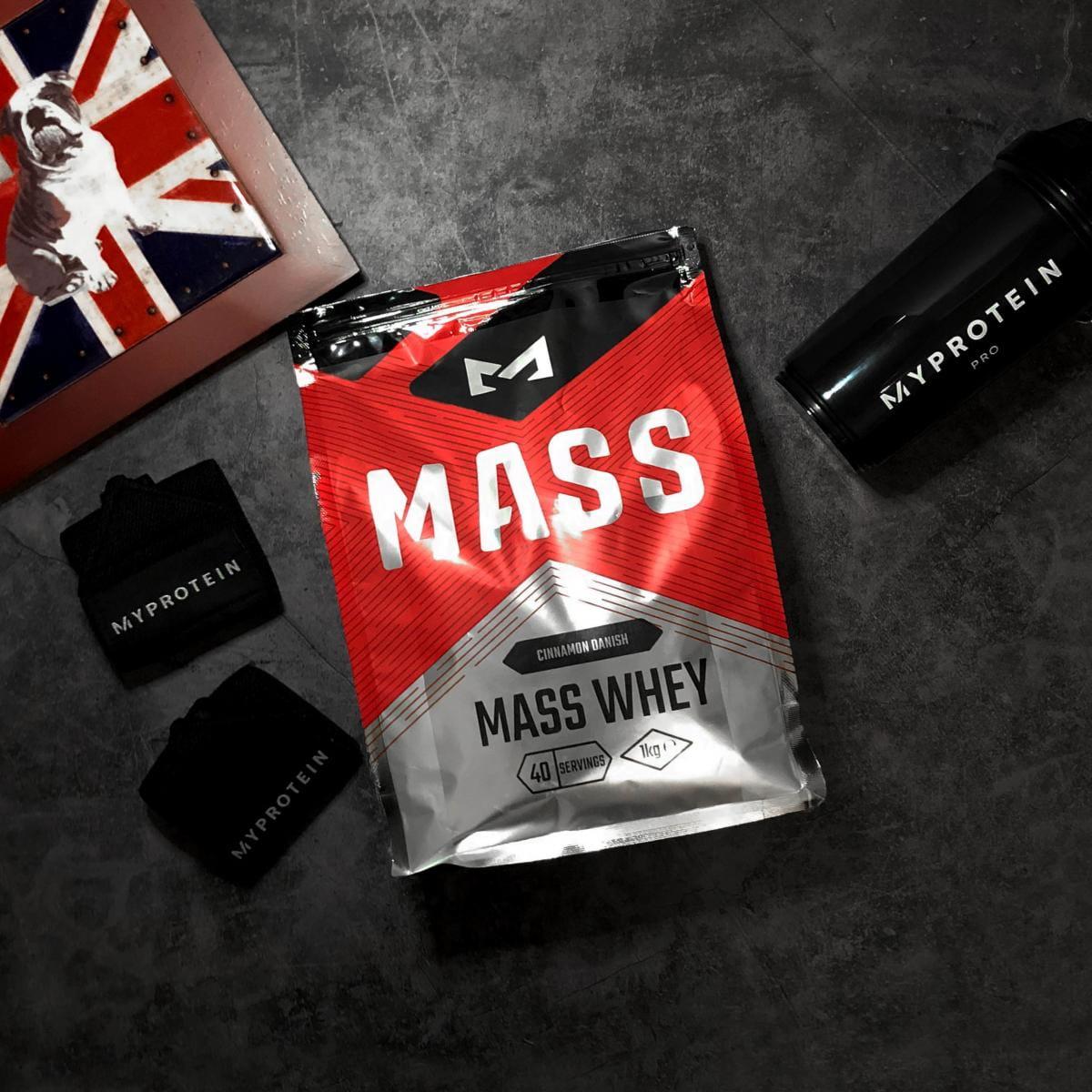 英國Mass 濃縮乳清蛋白 高蛋白 1kg 2
