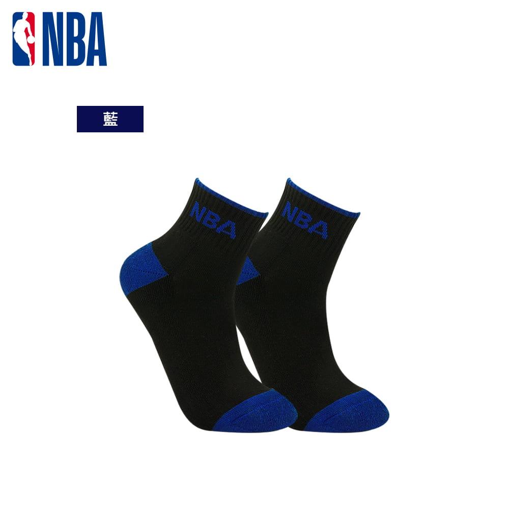 【NBA】運動休閒緹花毛圈短襪 1